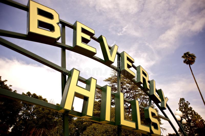 Beverly Hills royaltyfria bilder