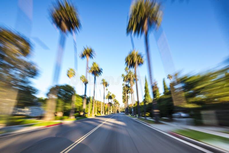 Beverly Hills imagenes de archivo
