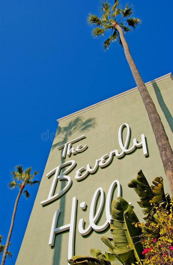 Beverly Hills royaltyfri bild