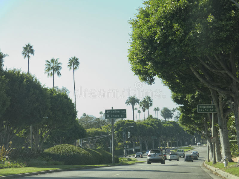 Beverly Hills fotografia stock