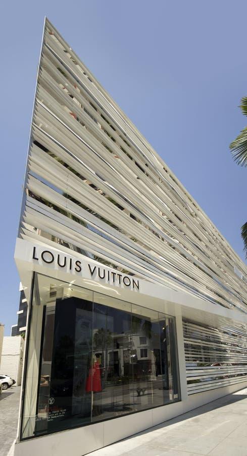 Beverly Hills, CA, il 2 giugno 2015 il lusso del francese marca a caldo fotografia stock