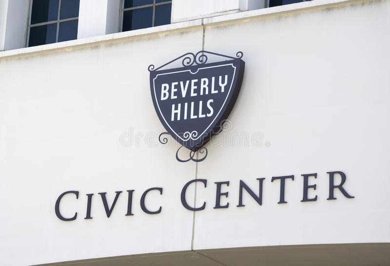 Beverly Hills CA - Juni 02, 2015: royaltyfria bilder
