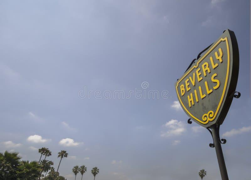 Beverly Hills CA, USA Juni 2nd, 2015 royaltyfria foton