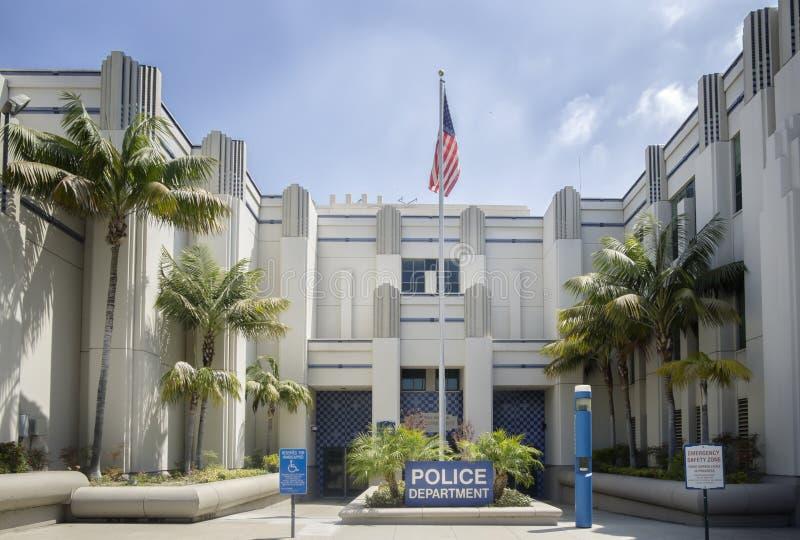 Beverly Hills CA, USA Juni 2nd 2015 Beverly Hills Police Department arkivfoto