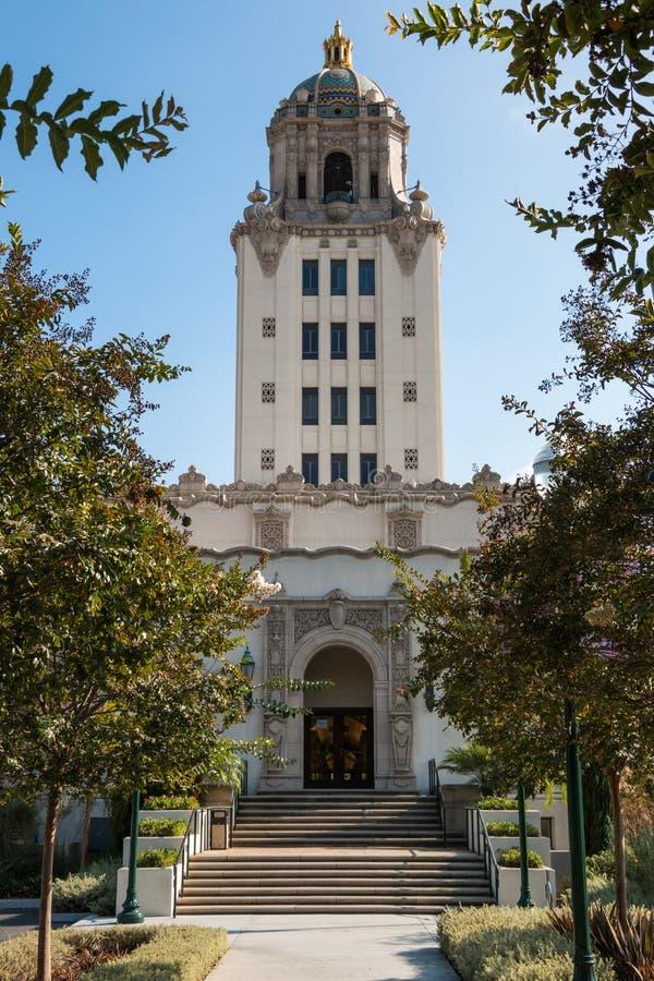 Beverly Hills City Hall 2 royaltyfria foton