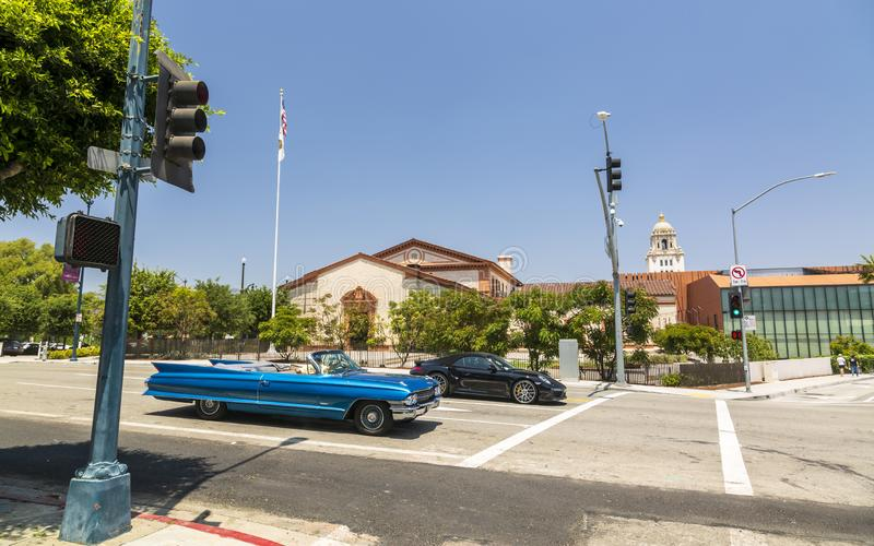 Beverly Hills, Los Angeles, Kalifornia, Stany Zjednoczone Ameryka, Północna Ameryka fotografia stock