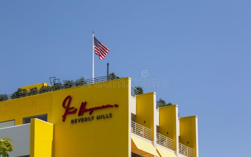 Beverly Hills, Los Angeles, Kalifornia, Stany Zjednoczone Ameryka, Północna Ameryka zdjęcie stock
