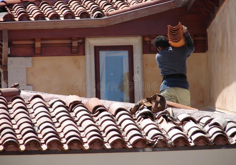 Beverly Hills roofer arkivbilder