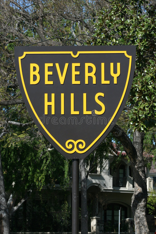 Free Beverly Hills Sign Royalty Free Stock Image - 2221016