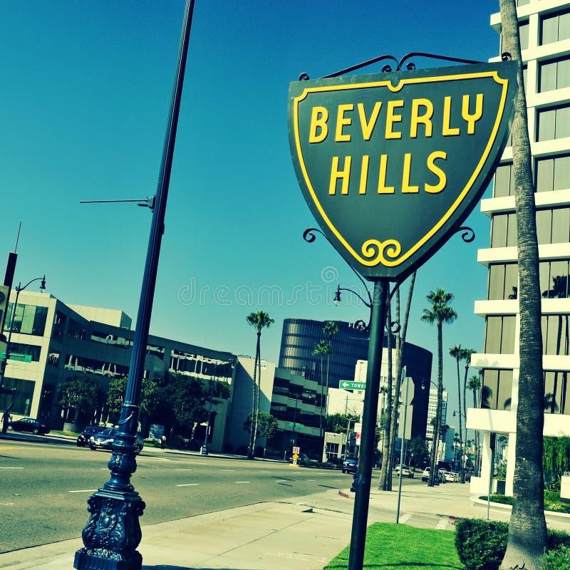 Beverly Hills United States royaltyfri fotografi
