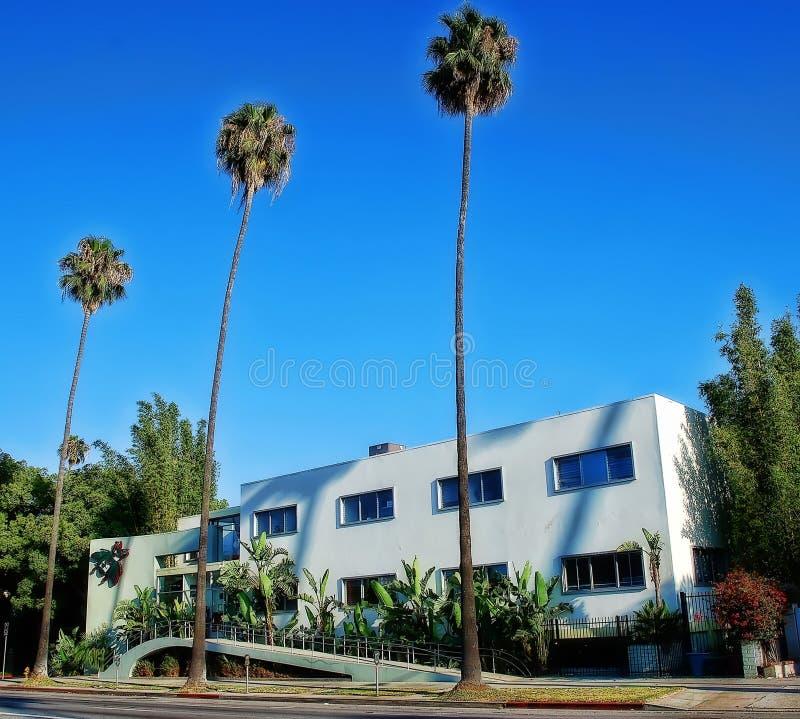 Beverly Hills USA royaltyfri fotografi