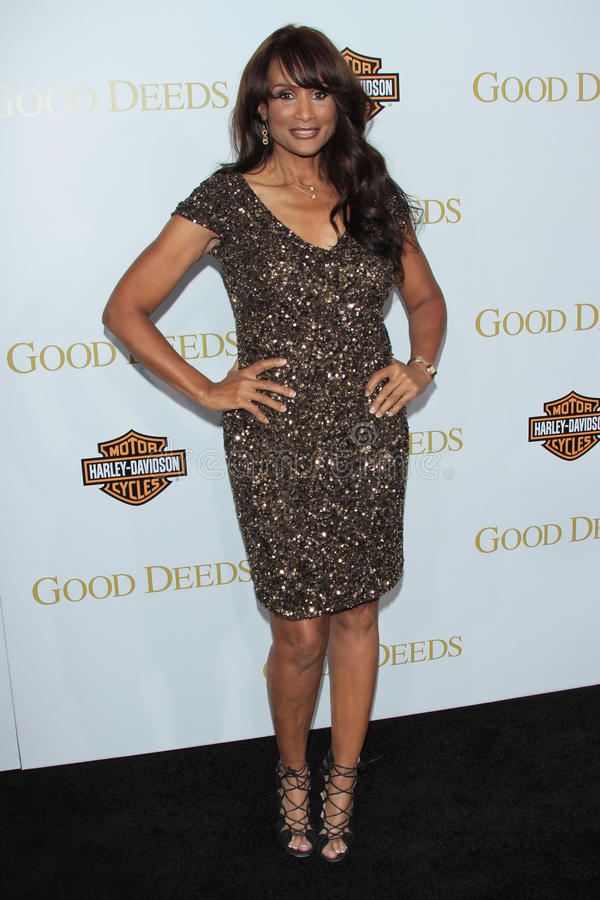 Beverly Johnson. At Tyler Perry's Good Deeds Los Angeles Premiere, Regal Cinemas, Los Angeles, CA 02-14-12 stock photos