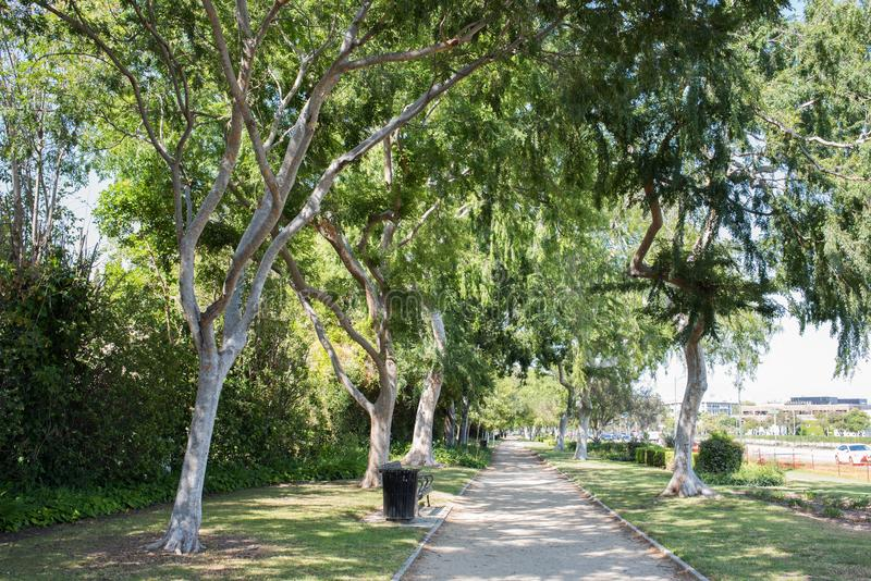 beverly Kalifornien kullar arkivfoto