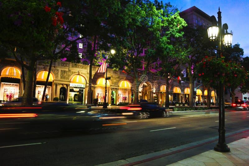 Beverly Wilshire Hotel royalty free stock photos
