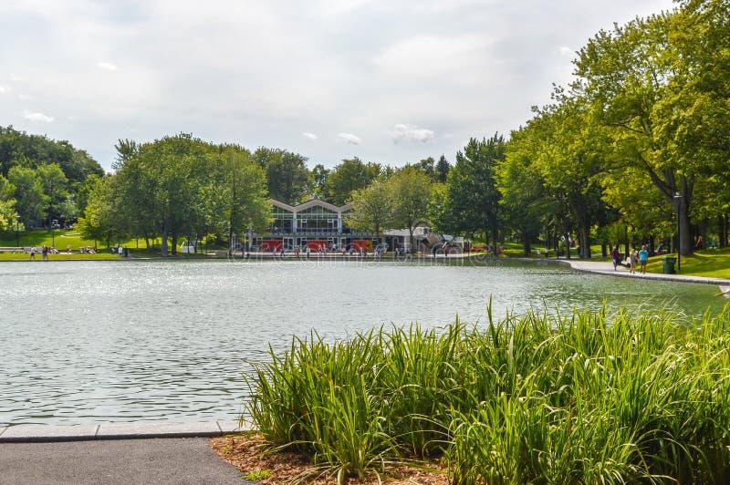 Bevermeer - zet Koninklijk Park op stock foto