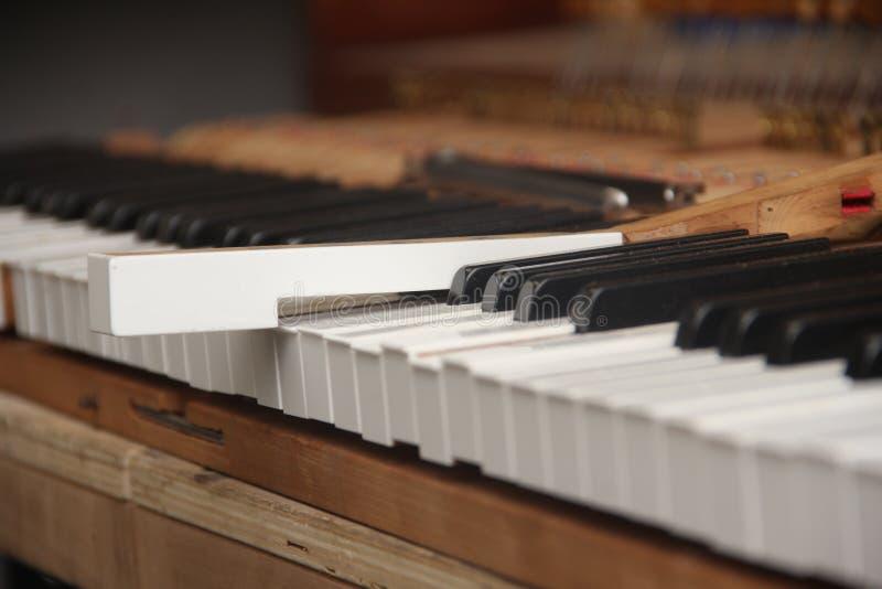 Bevestigende Piano royalty-vrije stock foto's