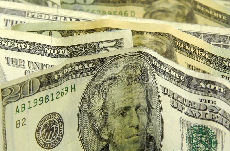Bevindend Geld royalty-vrije stock afbeeldingen