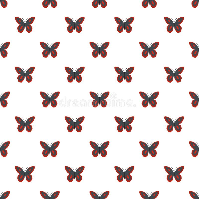 Bevlekt naadloos vlinderpatroon royalty-vrije illustratie