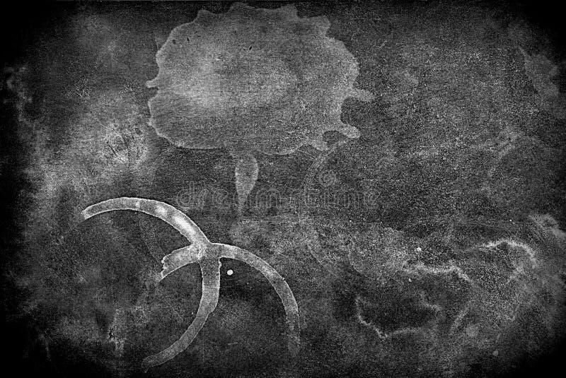 Bevlekte oude uitstekende document textuurachtergrond nr 46 stock afbeelding