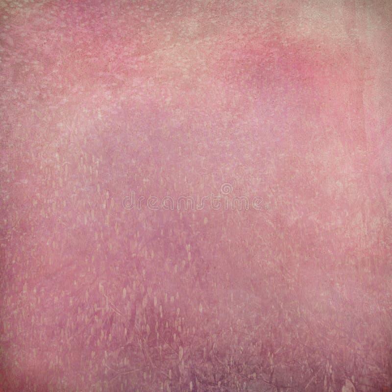 Bevlekte roze grunge geweven achtergrond stock fotografie