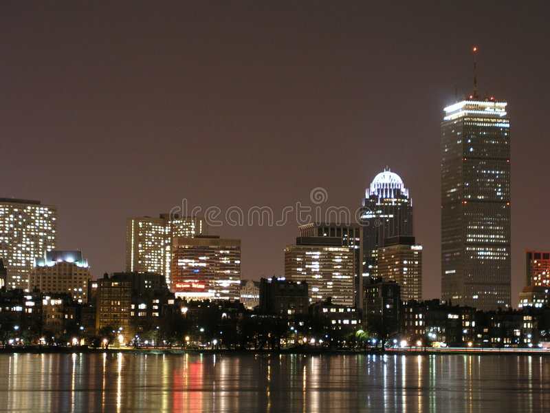 Bevroren Boston royalty-vrije stock afbeeldingen