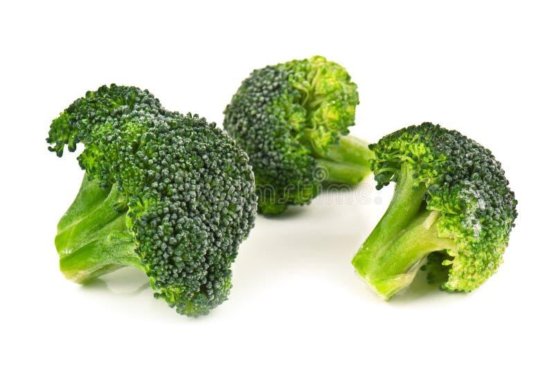 Bevroren broccoli royalty-vrije stock fotografie