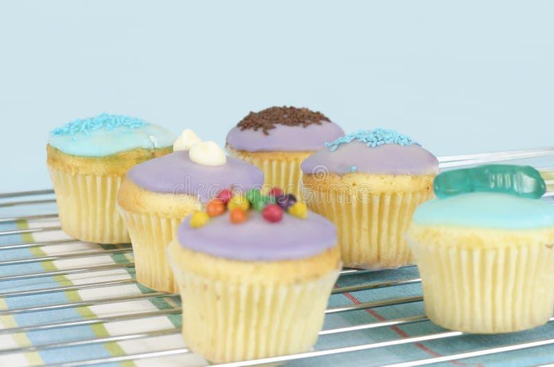 Bevroren Cakes royalty-vrije stock foto's