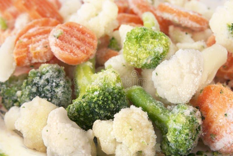 Bevroren groentenmengeling royalty-vrije stock afbeelding