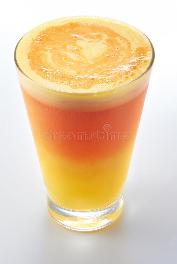 bevroren jus d'orange stock foto's