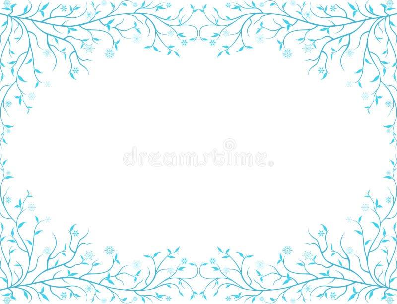Bevroren kader vector illustratie