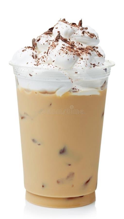 Bevroren koffie stock foto
