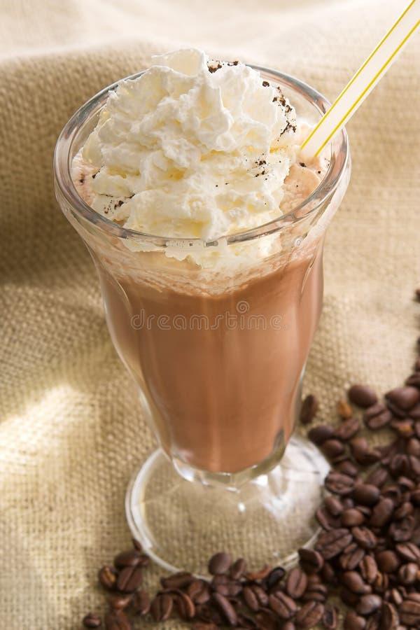 Bevroren koffie latte
