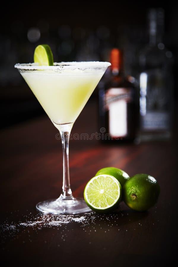 Bevroren Margarita Cocktail royalty-vrije stock foto