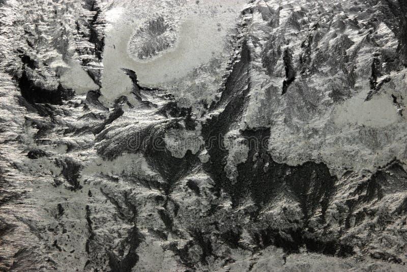 Bevroren ruit royalty-vrije stock afbeeldingen