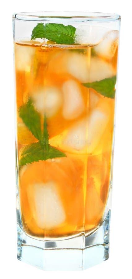 Bevroren thee. royalty-vrije stock afbeelding