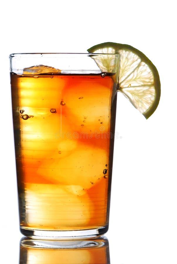 Bevroren thee stock foto