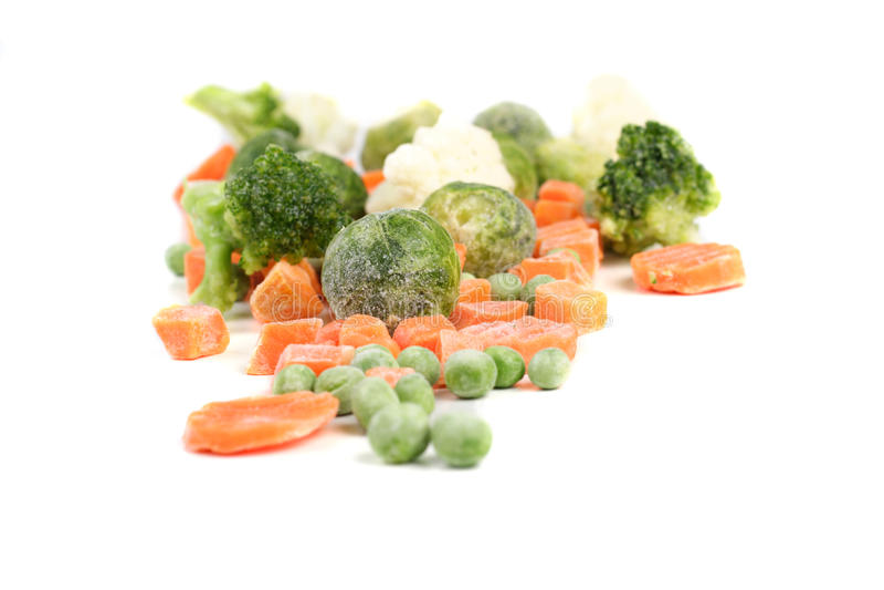 Bevroren Voedsel royalty-vrije stock foto's