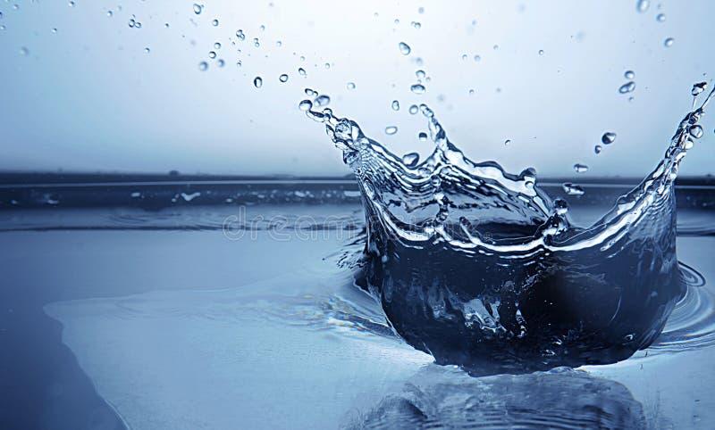 Bevroren waterplons royalty-vrije stock afbeeldingen