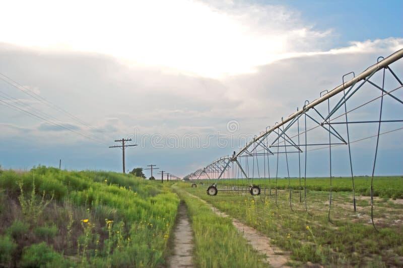 Bewässerungssystem lizenzfreie stockfotos