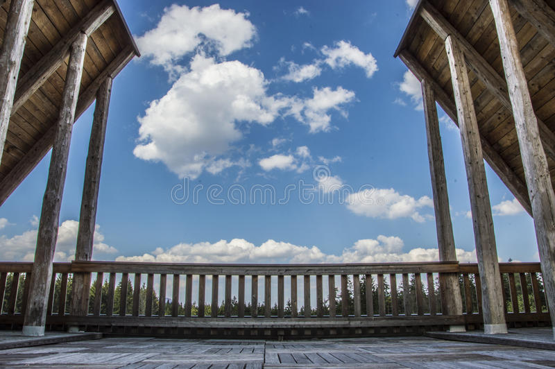 Bewölkter Himmel lizenzfreie stockfotos