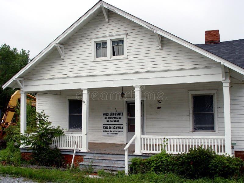 Bewaard huis stock afbeeldingen
