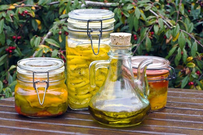 Bewaard Voedsel Royalty-vrije Stock Fotografie