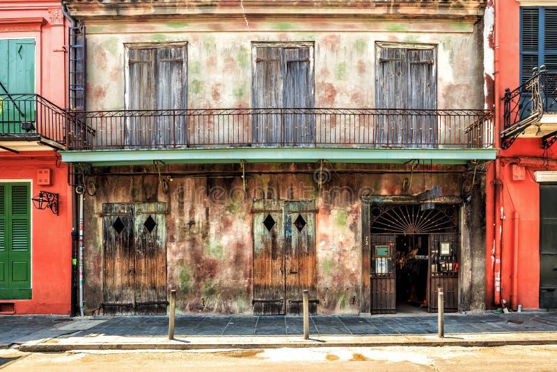 Bewahrung Hall in New Orleans stockbild