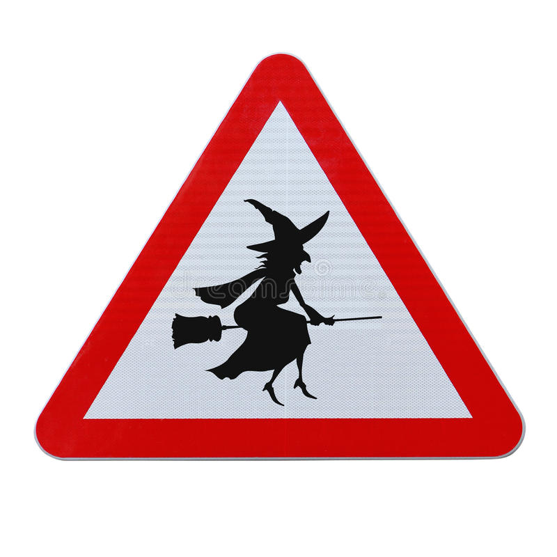 Download Beware Of Flying Witches Stock Photo - Image: 25628860