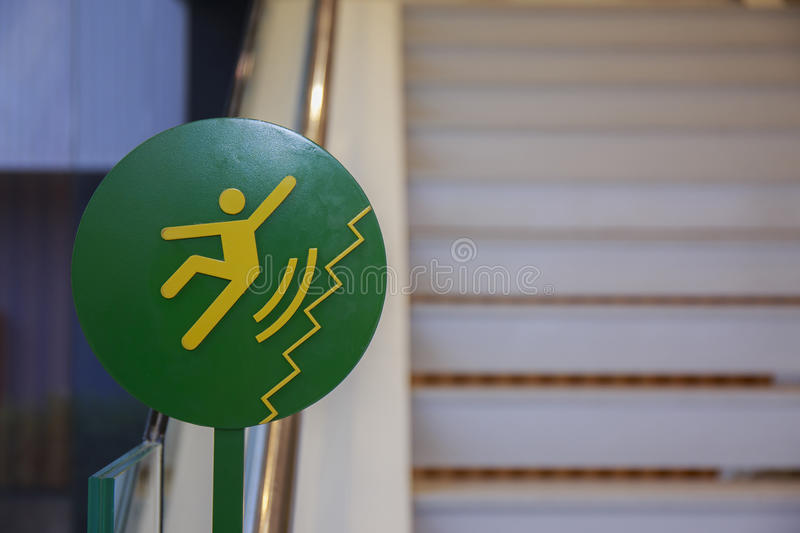 Download Beware Of Slippery At Stairs Stock Photo   Image Of Stair, Soapy:  62552558
