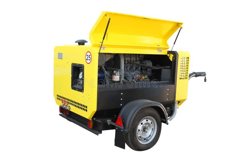 Beweegbare compressor stock afbeelding