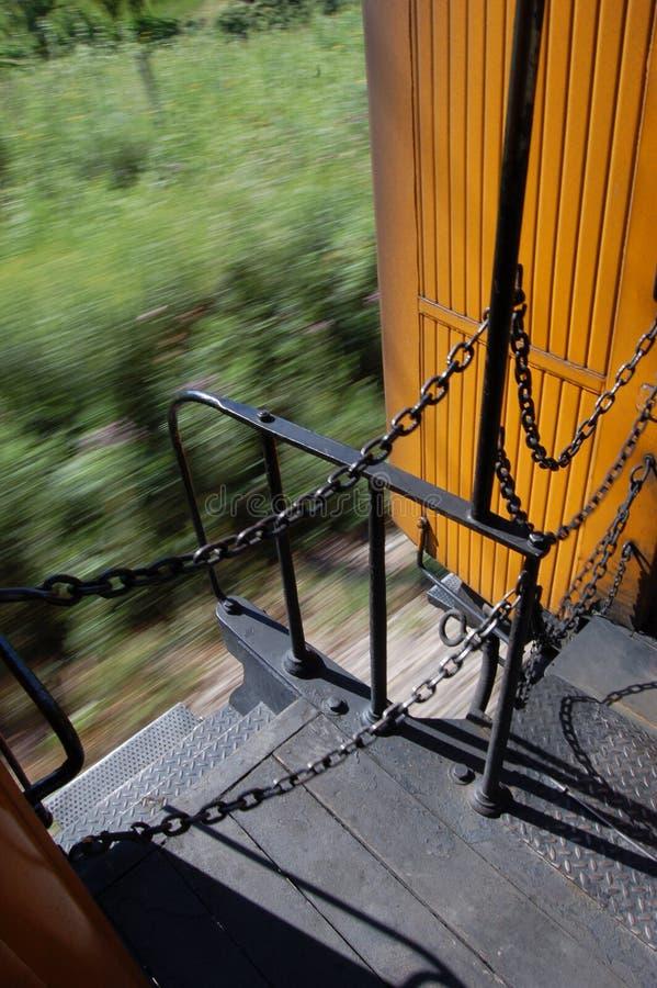 Bewegende Trein stock foto's