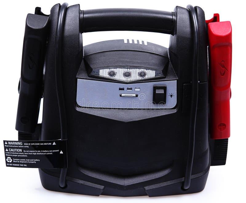 Bewegliche Batterie-Satz-und Überbrücker-Seilzüge lizenzfreie stockfotografie