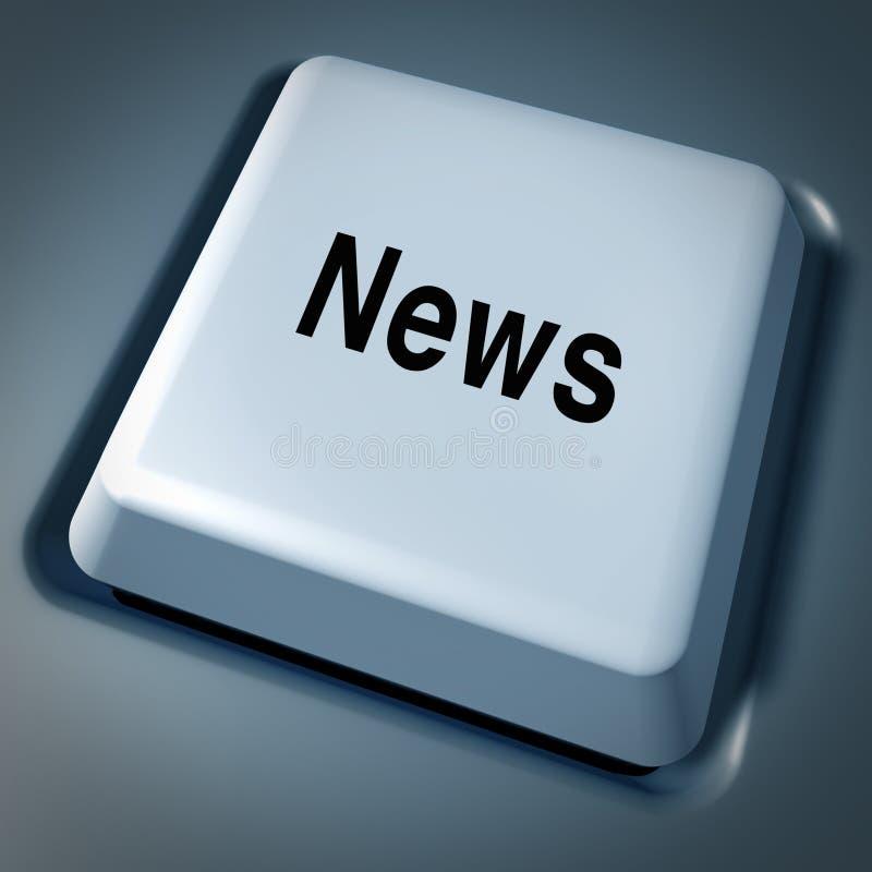 Bewegliche Web-Informationen des Nachrichteninternets direkt vektor abbildung