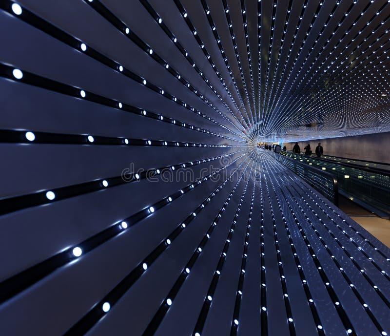 Beweglicher Gehweg, National Gallery der Kunst stockbilder